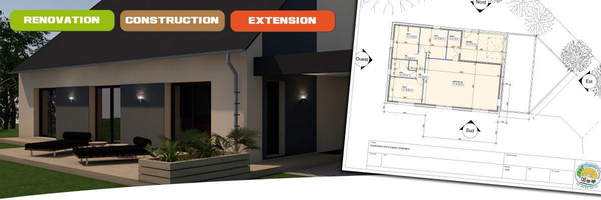 Rénovation, Construction ou Extension de votre habitation